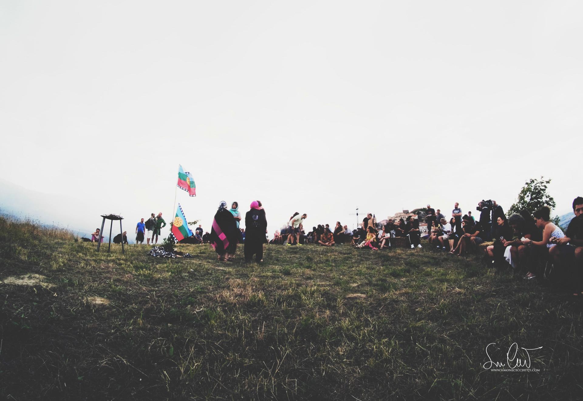 Cerimonia Mapuche. Foto di Simone Cecchetti